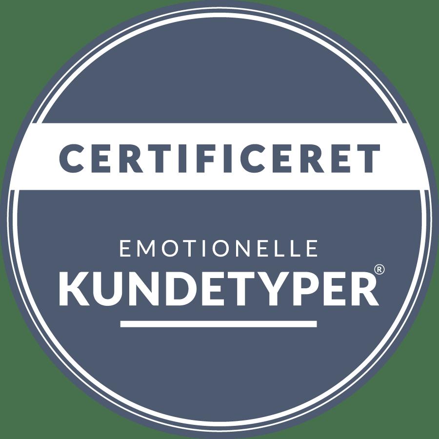 certifikat emotionelle kundetyper