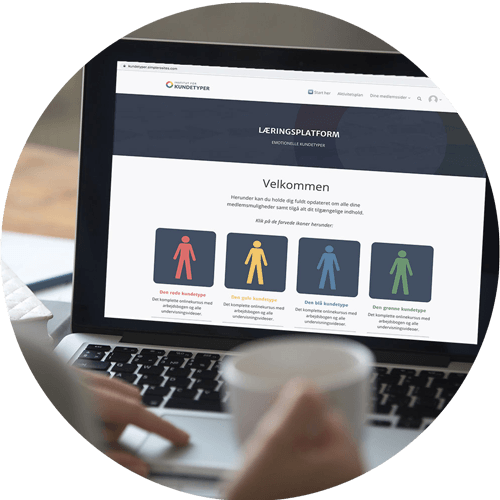 online kursus læringsplatformen
