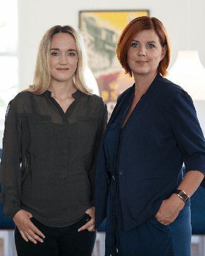 Sanne Dollerup og Jannie Ilum Gade