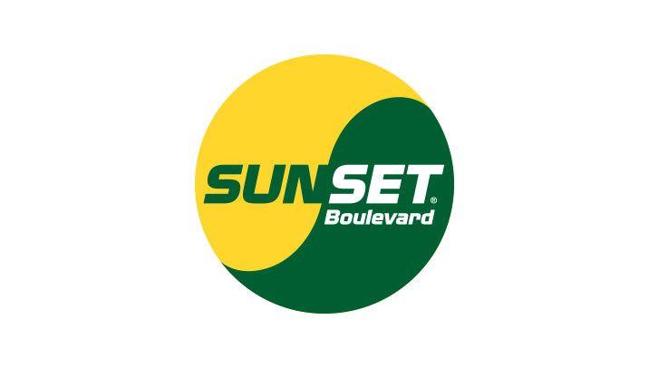 sunset boulevard logo i farver