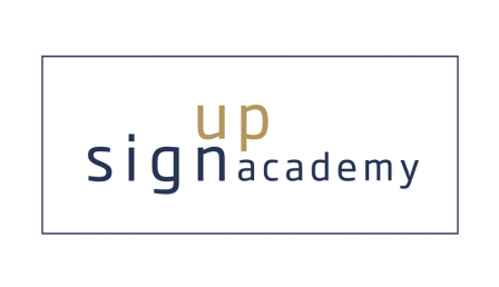 sign up academy logo